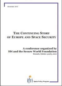The Continuing Story of Europe and Space Security