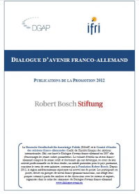 Dialogue d'avenir franco-allemand : Publications de la promotion 2012