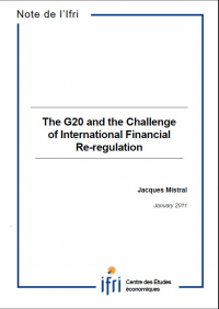 The G20 and the Challenge of International Financial Re-regulation