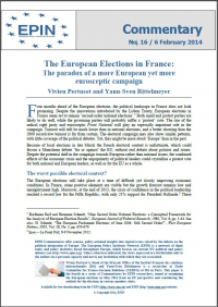 The European Elections in France: The paradox of a more European yet more eurosceptic campaign