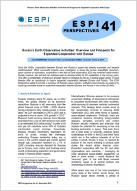 Russia's Earth Observation Activities: Overview and Prospects for Expanded Cooperation with Europe