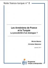 Les Arméniens de France et la Turquie: la possibilité d'un dialogue?