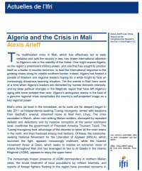 Algeria and the Crisis in Mali