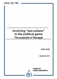 Involving ʺneo-urbansʺ in the political game The example of Senegal