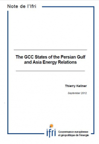 The GCC States of the Persian Gulf and Asia Energy Relations