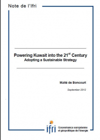 Powering Kuwait into the 21st Century: Adopting a Sustainable Strategy