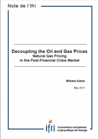 Decoupling the Oil and Gas Prices - Natural Gas Pricing in the Post-Financial Crisis Market