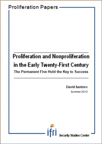 Proliferation and Nonproliferation in the Early Twenty-First Century : The Permanent Five Hold the Key to Success