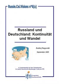 Russland und Deutschland: Kontinuität und Wandel
