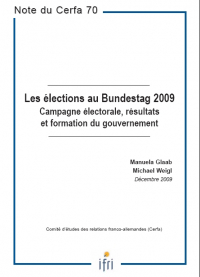 Les élections au Bundestag 2009 : Campagne électorale, résultats et formation du gouvernement