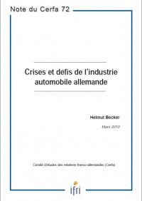 Crises et défis de l'industrie automobile allemande