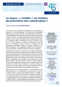 Le Japon, « modèle » en matière de prévention des catastrophes ?