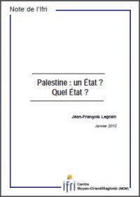 Palestine: un Etat? Quel Etat?