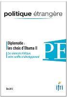 Diplomatie : les choix d'Obama 2