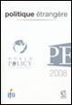 Politique étrangère - World Policy Conference 2008