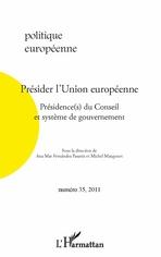 L'institutionnalisation de la présidence du Conseil européen : entre dépendance institutionnelle et inflexions franco-allemandes