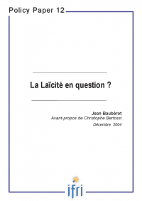 La Laïcité en question?