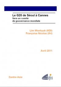 Le G20 de Séoul à Cannes: Vers un comité de gouvernance mondiale