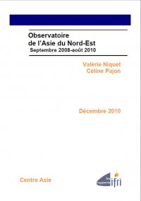 Observatoire de l'Asie du Nord-Est - Septembre 2008-août 2010