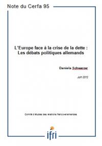 L'Europe face à la crise de la dette : Les débats politiques allemands