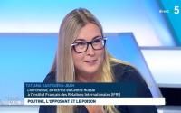 Tatiana Kastouéva-Jean dans l'émission C dans l'air_ 09 2020