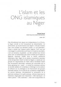 L'Islam et les ONG islamiques au Niger