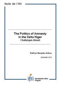 The Politics of Amnesty in the Niger Delta. Challenges Ahead