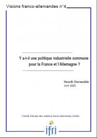 Y a-t-il une politique industrielle commune pour la France et l'Allemagne ?