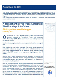 A Transatlantic Free Trade Agreement?