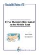Syrie : le meilleur atout de la Russie au Moyen-Orient