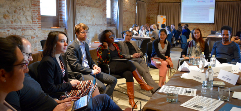 Promotion 2016, séminaire 3 du Dialogue d'avenir, Espagne, octobre 2016