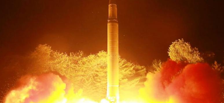Tir de missile Nord coréen