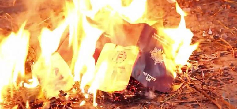 Image tirée d'une vidéo de propagande de Daech
