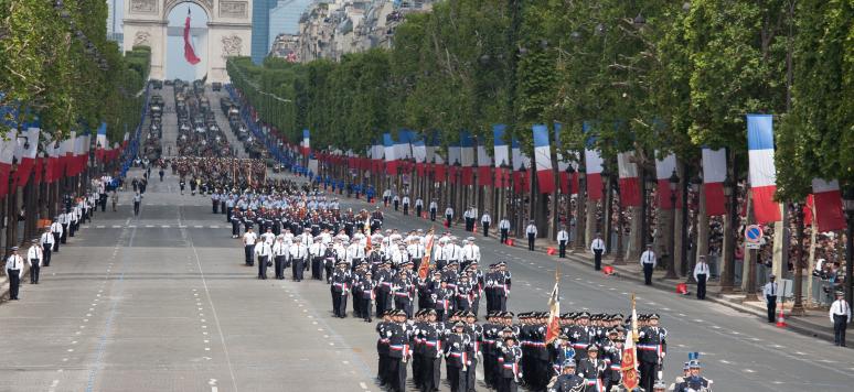 14 Juillet 2012, Paris, France.