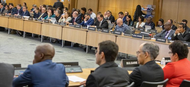 Les négociations du Cadre inclusif OCDE / G20 sur l'érosion de la base d'imposition et le transfert de bénéfices dans le monde, mai 2019
