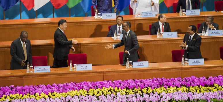 Opening ceremony FOCAC