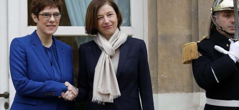 Kramp-Karrenbauer en France: deux ministres, un objectif
