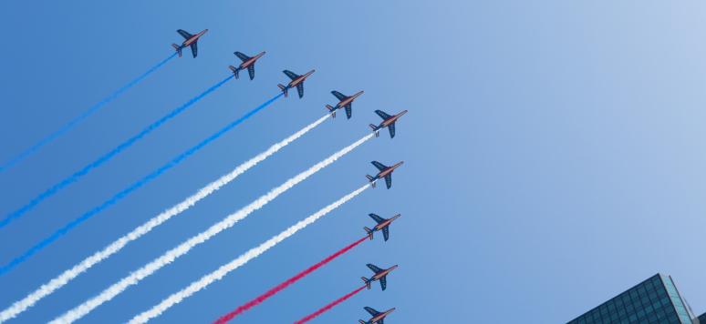 Paris, France le 14 juillet 2013