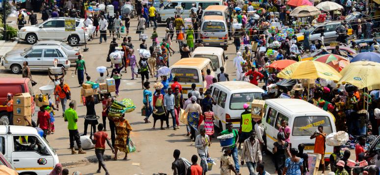 Market in Kumasi, Ghana