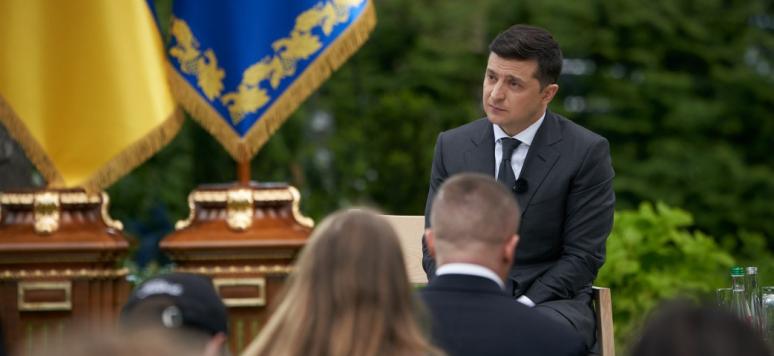 Volodymyr Zelensky, 2020