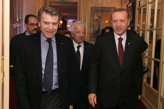 Thierry de Montbrial, Recep Erdogan