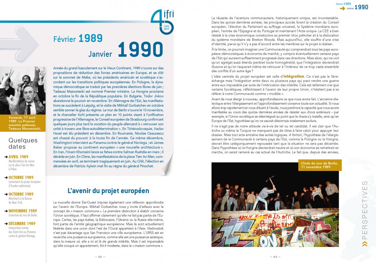 Une histoire du monde. 40 ans de relations internationales. [Extrait 2]