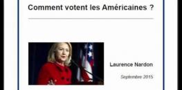 """""""Le vote des femmes américaines"""" - Laurence Nardon"""