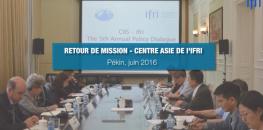 Retour de mission, Centre Asie de l'Ifri - Pékin, Juin 2016. Avec Françoise NICOLAS et Alice EKMAN