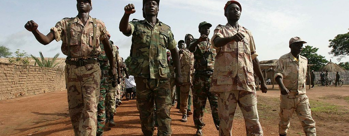 Rebels in Northern Central African Republic, June 2007