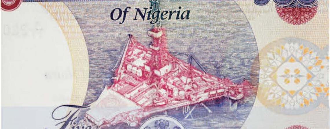 Billet de 500 Naira Nigerian
