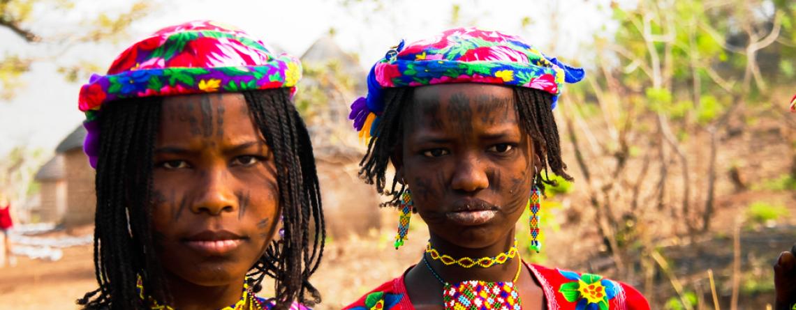 Jeunes femmes de la communauté peule Mbororo