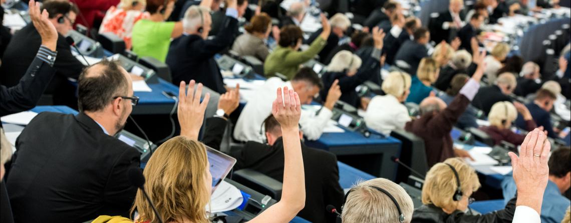 Vote au Parlement européen