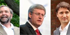 Candidats élections fédérales Canada 2015