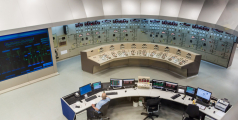 Command room of Itaipu hydroelectric dam on river Parana on the border of Brazil and Paraguay - Shutterstock/Matyas Rehak